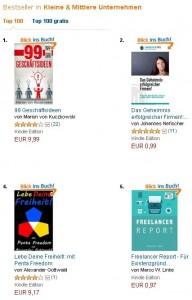 Lebe Deine Freiheit Buch Platz 4 kleine & mittlere Unternehmen