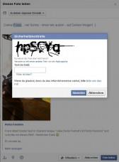 Penta Freedom Bild teilen gilt auf Facebook als unsicher