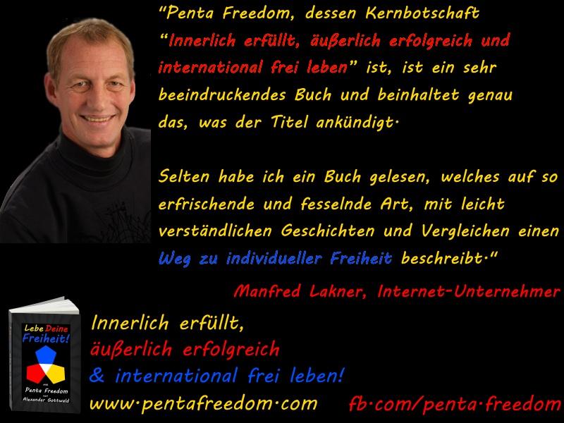 Penta Freedom Lebe Deine Freiheit Rezension Manfred Lakner