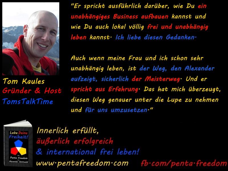 Penta Freedom Lebe Deine Freiheit Tom Kaules Rezension TomsTalkTime