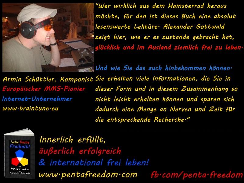 Penta Freedom Lebe Deine Freiheit Rezension Armin Schüttler