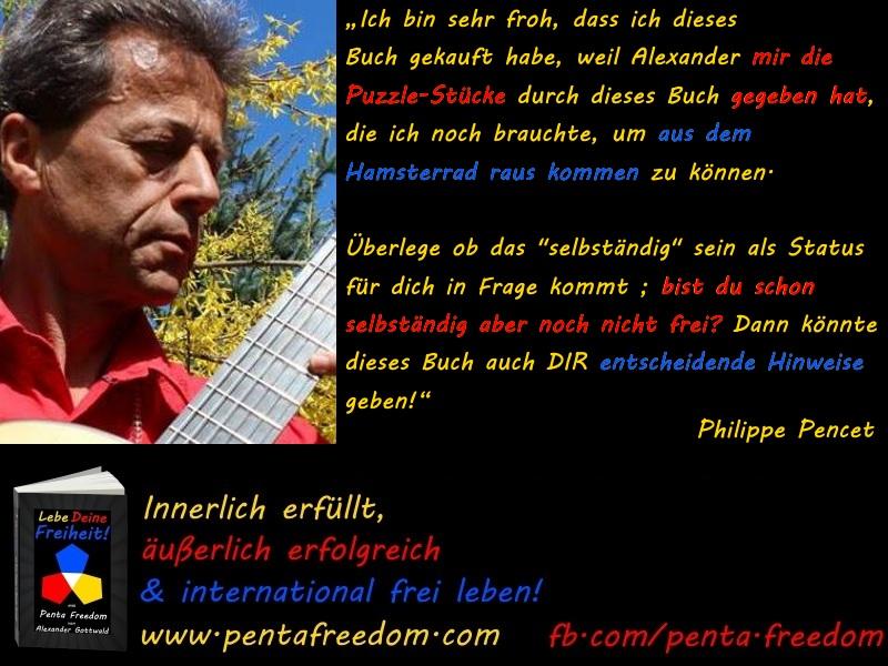 Penta Freedom Lebe Deine Freiheit Rezension Philippe Pencet
